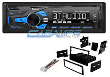 NEW DUAL DIGITAL CAR STEREO W/ INSTALL KIT W/ BLUETOOTH RADIO & USB/AUX INPUTS