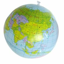 Kids 16 Inch Balloon Ball Geography 40cm PVC World Map Inflatable Toys Globe