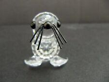 Swarovski Crystal Baby Seal Var 3 Black Whiskers Kingdom of Ice and Snow 7663