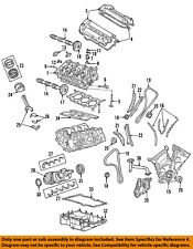 FORD OEM-Engine Timing Cover 5F9Z6019BA