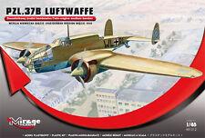 PZL – 37 B LUFTWAFFE – TWIN ENGINE MEDIUM BOMBER, MIRAGE HOBBY, SCALE 1/48