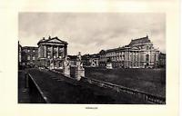 1903 Antique Art Photo Print Versailles Shrine Dodd Mead Co