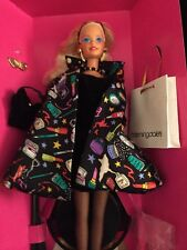NRFB Mattel 1994~Nicole Miller SAVVY SHOPPER Bloomingdale's Barbie Doll #12152