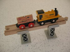 Due Binario treno supporta per legno Binario Treno Set (Brio Thomas)