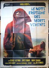 manifesto 4F film EROTIC NIGHTS OF THE LIVING DEAD Joe D'Amato 1980