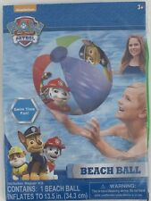 Paw Patrol Inflatable Beach Ball Chase Rocky Marshall