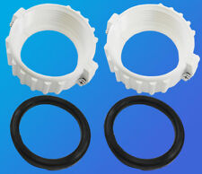 "2"" Spa Hot Tub Heater Split Nut Union & (2) Gasket O-ring Balboa Oring Pair"
