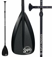 Super Paddles Alloy SUP Paddle - 3-Piece Adjustable Stand Up Paddle