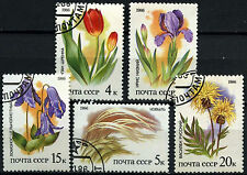 Russia 1986 SG#5622-6 Plants Used Set #D46049