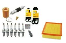 Tune Up Kit Filters Air Gas and Oil Filter Spark Plugs Belts BMW E46 M3 01-06