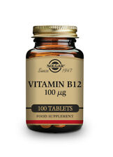 Solgar Vitamin B12 100ug 100 Tablets