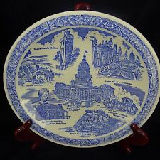 Vintage Vernon Kilns State of Illinois Collectors Plate