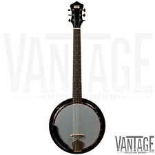 New! Recording King RK-G25 Madison 6 String Banjo - Guitar Banjo - Banjitar