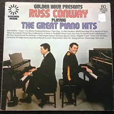 RUSS CONWAY playing the great piano hits LP PS EX/EX golden hour GH555