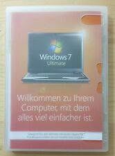 Microsoft Windows 7 Ultimate 32 Bit System Builder Vollversion Deutsch GLC-00705