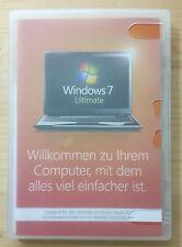 Microsoft Windows 7 Ultimate 32 Bit System Builder Vollversion Deutsch GLC-00705