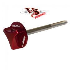 RED ANODISED AIRFILTER BOLT CNC 80MM HONDA CR125 96-07 CR250 96-07 CR500 96-01