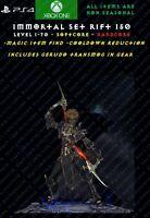 Diablo 3 PS4 XBOX ONE Monk Raiment Of A Thousand Storms Modded Set Rift 150