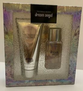 VICTORIA`S SECRET DREAM ANGEL BODY LOTION & BODY MIST TRAVEL 2 PIECE GIFT SET