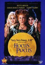 Hocus Pocus DVD Disney Bette Midler Sarah Jessica Parker NEW