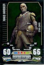 Star Wars Force Attax Series 3 Card #224 Rako Hardeen