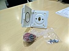 MOTORHOME & CARAVAN BULLFINCH GAS BBQ OUTLET UNIT WHITE 6087