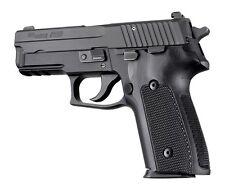 Hogue Grip For Sig P228, P229 & M11-A1 DA/SA - Checkered G-10 Solid Black 28179