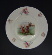 Vintage Epiag China Plate: Dutch Children Playing with Toy Boat & Windmill
