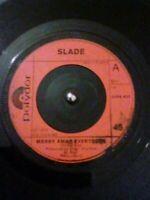 "Slade – Merry Xmas Everybody Vinyl 7"" Single UK Polydor 2058 422 1973"