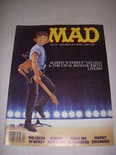 "MAD Magazine, April, 1987, ALFRED ""E STREET"" NEUMAN, BRUCE SPRINGSTEEN Cover!"