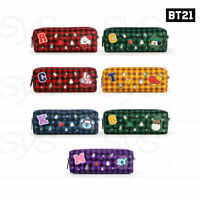BTS BT21 Official Authentic Goods C-Pocket Check Pouch +Traking Number