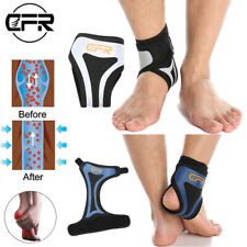 Compression Ankle Support Brace Foot Strap Achilles Heel Sprain Pain Relief IA