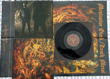 LP Vinyl - STAV Meditate to kill - MALICE OF BLOOD ANGEL 023 - BLACK METAL