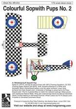 Blue Rider Decals 1/72 COLORFUL SOPWITH PUP FIGHTERS Part 2