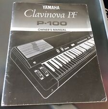 Yamaha Clavinova PF P-100 User's Manual