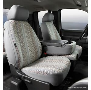 FIA TR47-42 GRAY Wrangler Custom Seat Cover Front For 18-20 Ford F150 NEW