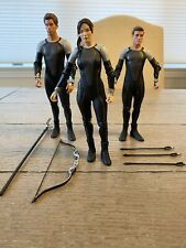 NECA Hunger Games Catching Fire Katniss Everdeen, Peeta, and Finnick Figures