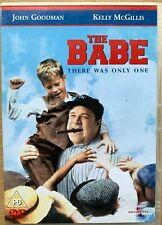 The Babe DVD 1992 Ruth Baseball Biopic Drama w/ John Goodman and Kelly McGillis