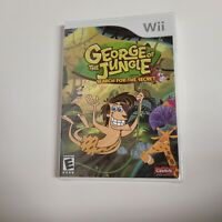 George of the Jungle and the Search for the Secret (Nintendo Wii) NEW SEALED