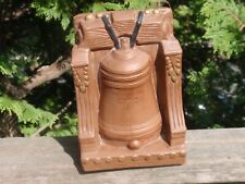 1 Bookend Chalkware The Liberty Bell Yozie Mold