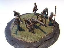 CS-Artillerie, feuernd, Amerik. Bürgerkrieg, Maßstab - 1:72