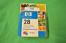 HP 28 Colour Ink Original  HP28 c8728ae Date 2006