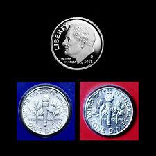 2011 P+D+S Roosevelt Dime Set ~ Mint Proof ~ PD Coins in Mint Wrap