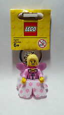 Brand New Lego Girl/Princess/Fairy Keyring (2015) - 850951 - Classic - Rare