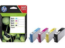 HP 364XL Tintenpatronen Schwarz/Cyan/Magenta/Gelb