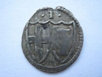 1649-57 Commonwealth silver Penny VF