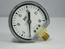 "Pressure Gauge 156740 P571 2"" 30 PSI 1/8"" LMC"