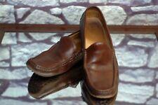 Ralph Lauren Purple Label Men's Brown Leather Driving Loafers Shoes 10D 10 D