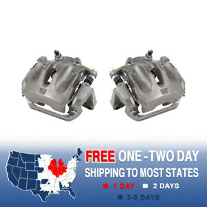 Front OE Brake Calipers Pair Kit For 2003 2004 2005 2006 2007 NISSAN MURANO