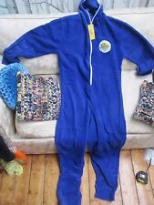 Gala Bingo Official Blue Fleece All in One Suit Brand New w Tags One Size